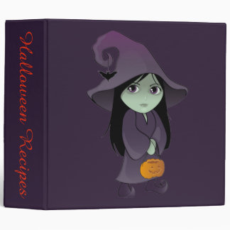 A Goth Witch 3 Ring Binders