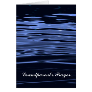 A Grandparent's Prayer Card