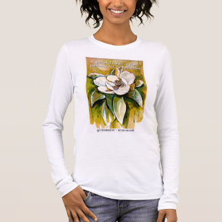 A grateful heart is the pathway for miracles long sleeve T-Shirt