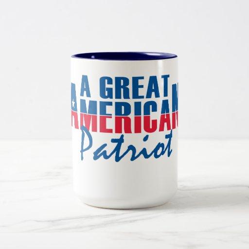 a great american patriot mug