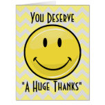A Great Big Smile Giant Thank You Card Big Greeting Card