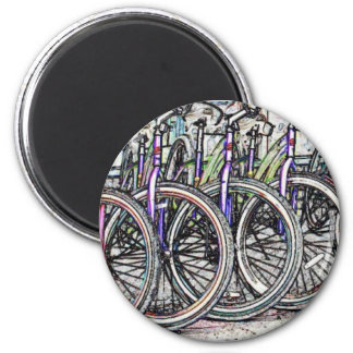A great bike design magnet
