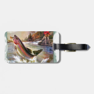 A great catch luggage tag