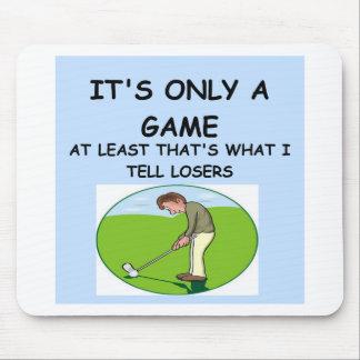 a great joke about winning! mousepads