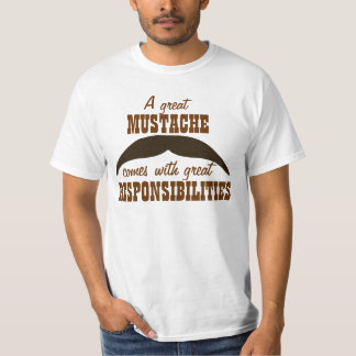 A Great Mustache T-Shirt