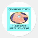 A Great Physics Design Round Sticker