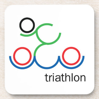 A great Triathlon gift for your friend or family Coaster