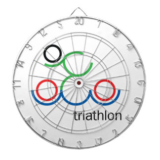 A great Triathlon gift for your friend or family Dart Board