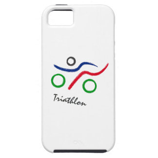 A great Triathlon gift for your friend or family iPhone 5 Cover