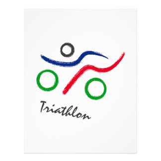 A great Triathlon gift for your friend or family Letterhead