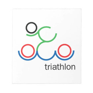 A great Triathlon gift for your friend or family Notepad