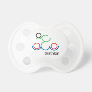 A great Triathlon gift for your friend or family Pacifier