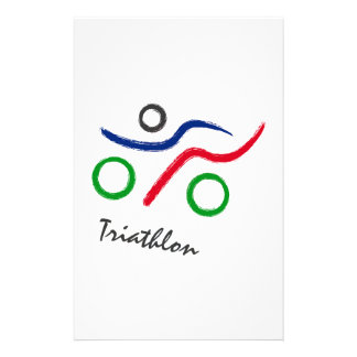 A great Triathlon gift for your friend or family Stationery