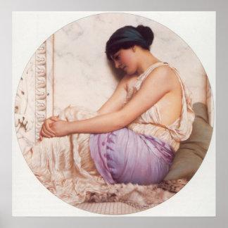 A Grecian Girl Poster