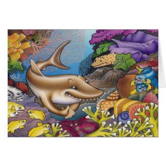A Greedy Shark Card
