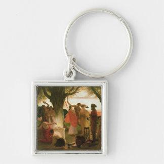 A Greek Festival Keychain