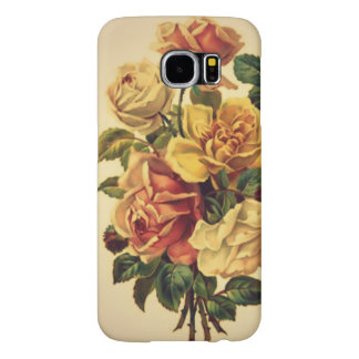""" A Greeting From Yesterday"" Floral CellPhone Case"