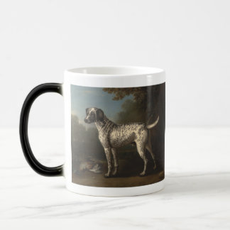 A Grey Spotted Hound Magic Mug