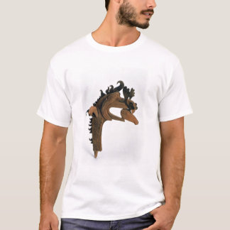 A griffin holding a deer in its beak T-Shirt