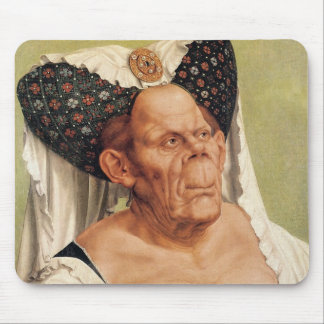 A Grotesque Old Woman, possibly Princess Margaret Mouse Pad