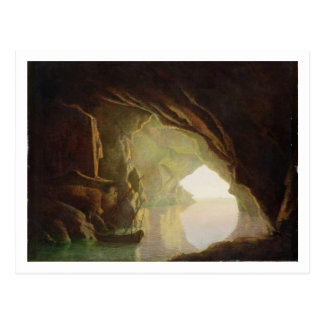 A Grotto in the Gulf of Salerno, Sunset, c.1780-1 Postcard