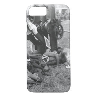 A group of wounded Filipinos_War Image iPhone 7 Case