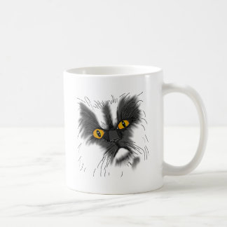 A Grumpy Cat not all here Coffee Mug