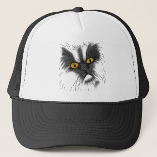 A Grumpy Cat not all here Trucker Hat
