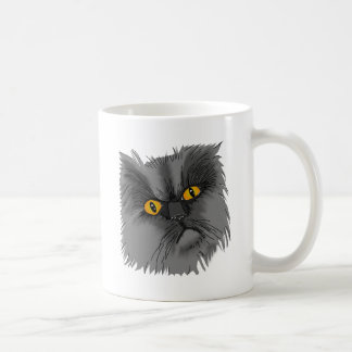 A Grumpy Cat vector Coffee Mug