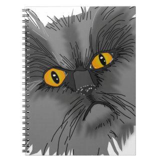 A Grumpy Cat vector Notebook