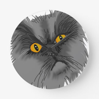 A Grumpy Cat vector Wallclock