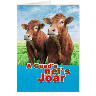 A guads neis Joar! Card