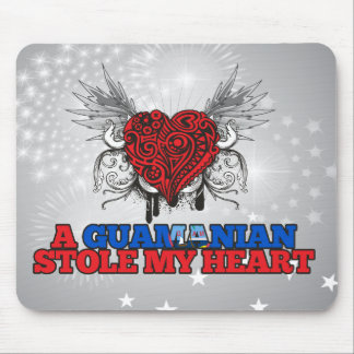 A Guamanian Stole my Heart Mouse Pad