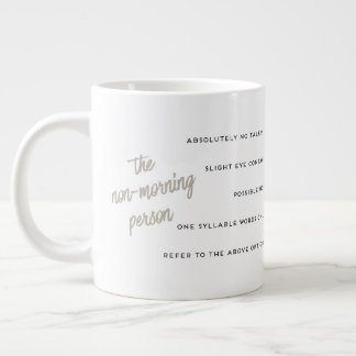 A Guide to the Non-Morning Person Mug