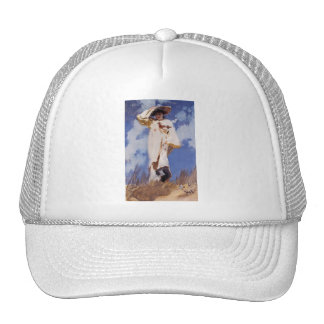 A Gust of Wind by John Singer Sargent Trucker Hat
