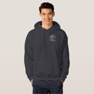 A+ H.E.L.P. Dark Grey Hooded Sweatshirt