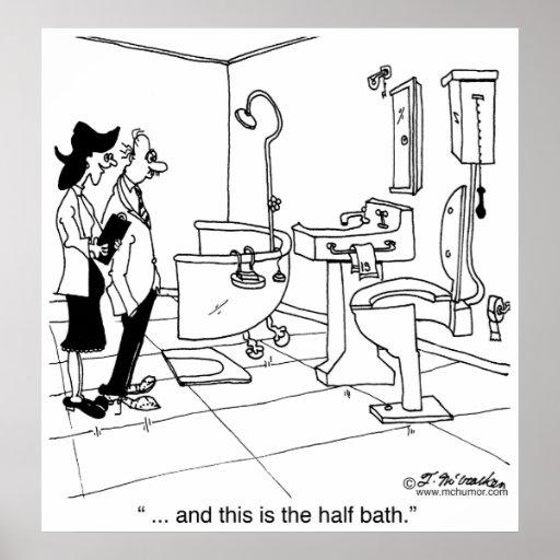 A Half Bath Poster