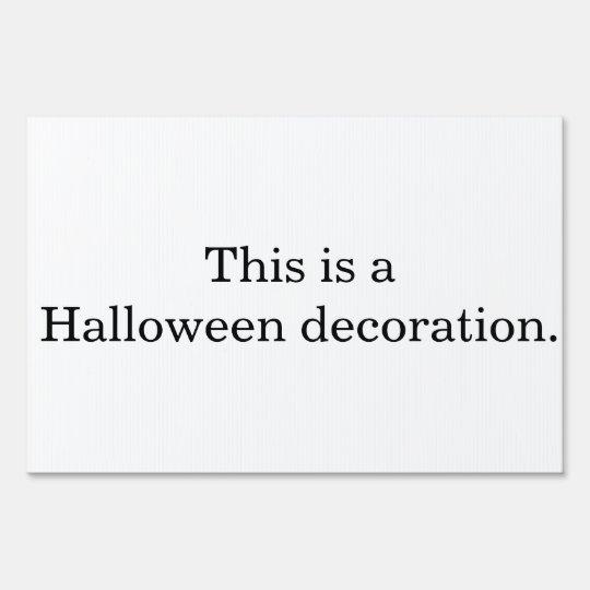 A Halloween Decoration