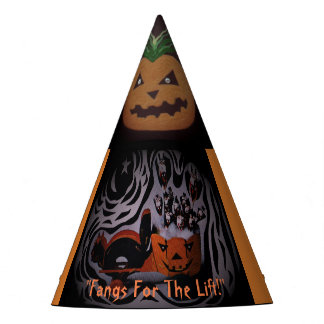 a Halloween hat for the spirited party