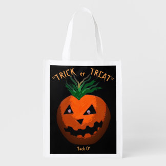 a Halloween treat bag
