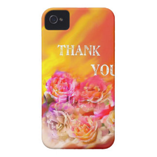 A hand full of thanks tends toward you. iPhone 4 Case-Mate case
