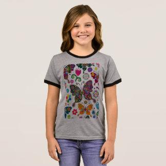 A hand made Clip art design t-shirt