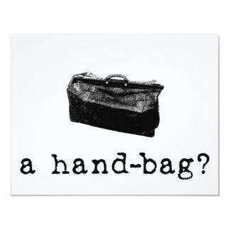 A Handbag? Custom Invite