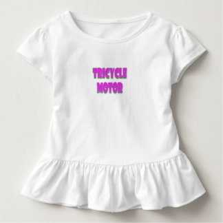 A happy, cute, funny, baby girl toddler t-shirt