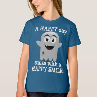 A HAPPY Day starts with a HAPPY SMILE Fun T-Shirt