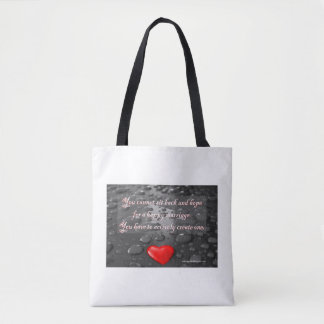 A Happy Marriage Tote Bag