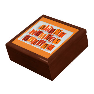 A Happy Thanksgiving Gift Box