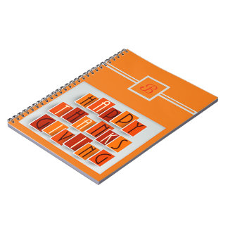 A Happy Thanksgiving Notebook
