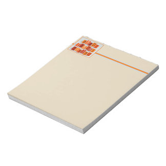 A Happy Thanksgiving Notepad