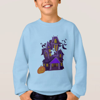 A haunted house! Spooky fun! Sweatshirt